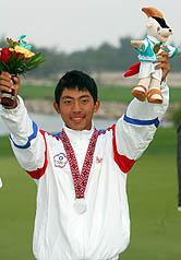 中華15歲小將潘政琮 亞運高球銀牌