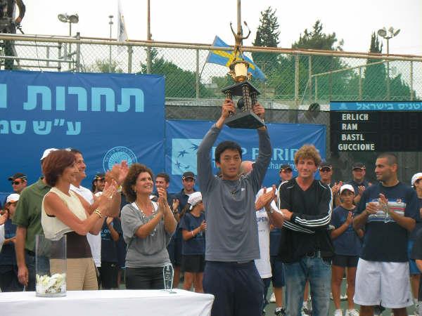網將盧彥勳 以色列挑戰賽奪冠