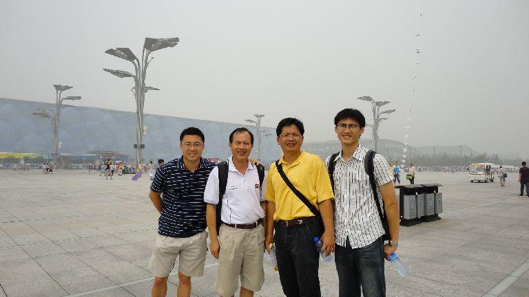 參觀北京奧林匹克公園(吳柏翰、陳信良、王順正、呂忠祐)