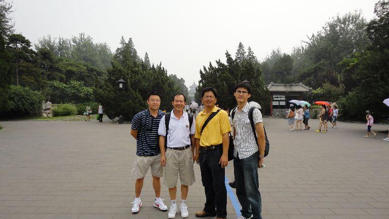 參觀北京天壇(吳柏翰、陳信良、王順正、呂忠祐)