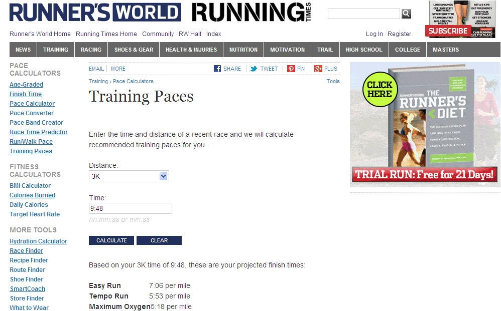 運動生理週訊第286期 智慧型設計跑步訓練處方