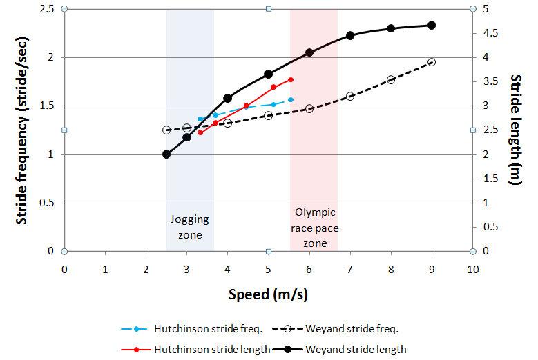運動生理週訊第327期 跑步速度增加對步頻與步幅的影響